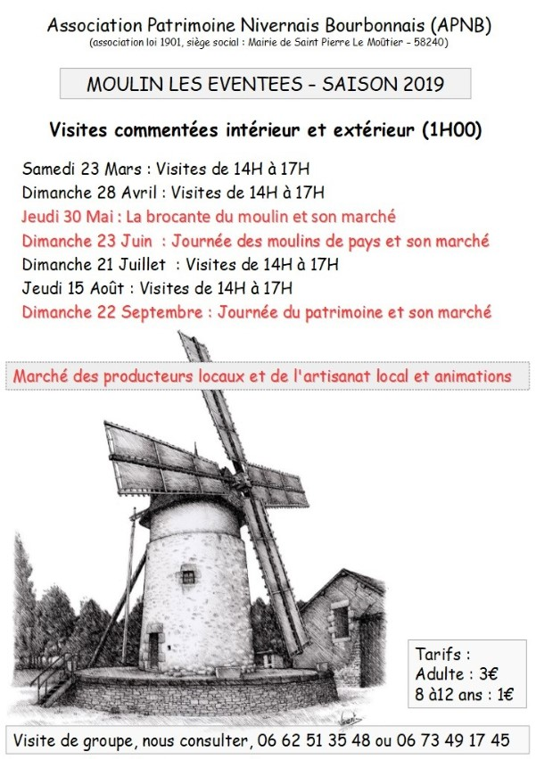 Image Moulin les Eventees