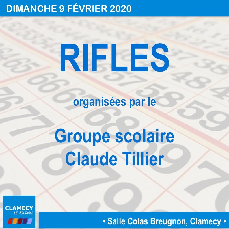 Rifles - CLAMECY 58500